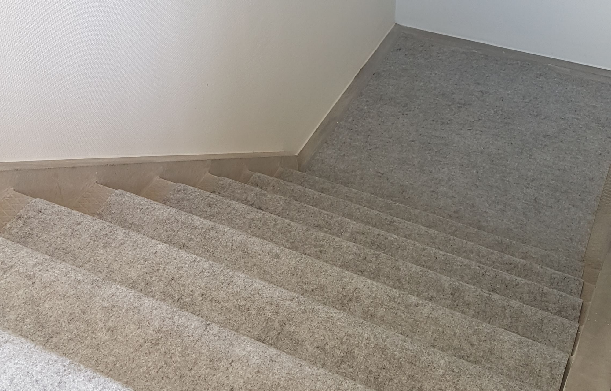 Dura Cover Concrete on Stairs